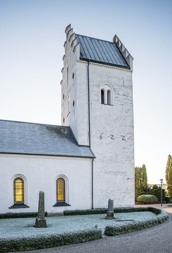 stra Karaby kyrka utvndig renovering - Regionmuseet