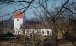 Gudmuntorps kyrka | Church, Gudmuntorp, Skåne, Sweden: Exteriör | Exterior [2019]<br>Lat: 55.817898N, Long: 13.483599E © Kristian Adolfsson (www.adolfsson.photo)