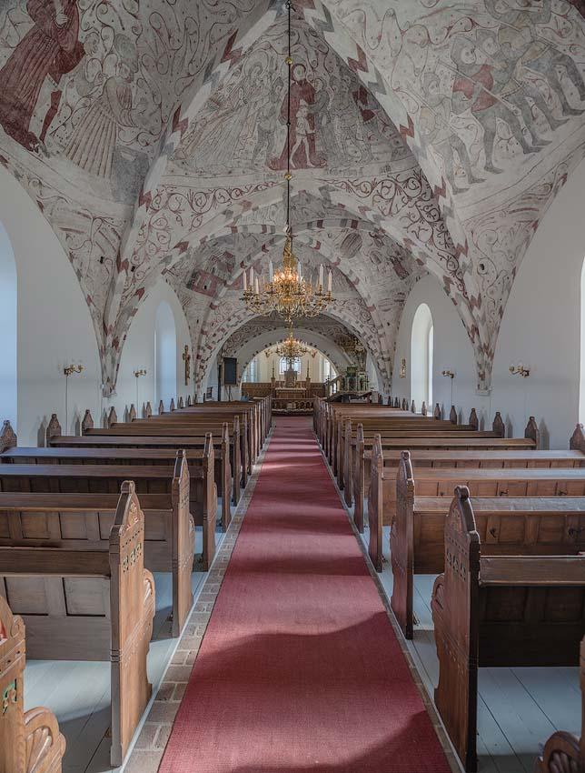 Hllestads Church in Torna Hllestad Skne Sweden