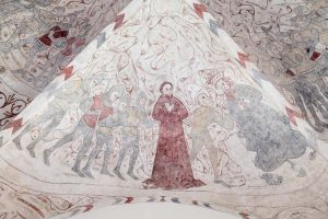 Hällestads kyrka | Church, Torna Hällestad, Skåne | Sweden: Takmålningar av Vittskövlemästaren | Ceiling paintings | Deckengemälde [2018]<br>Lat: 55.677697N, Long: 13.420717E © Kristian Adolfsson (www.adolfsson.photo)