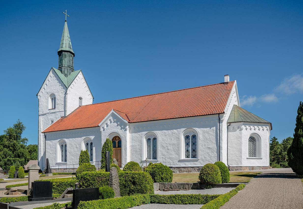 Grdstnga Church Skne Sweden   Architectural