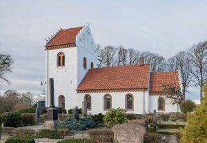 Hurva kyrka | Church, Skåne, Sweden: Exteriör | Exterior [2019]<br>Lat: 55.798500N, Long: 13.439327E © Kristian Adolfsson (www.adolfsson.photo)
