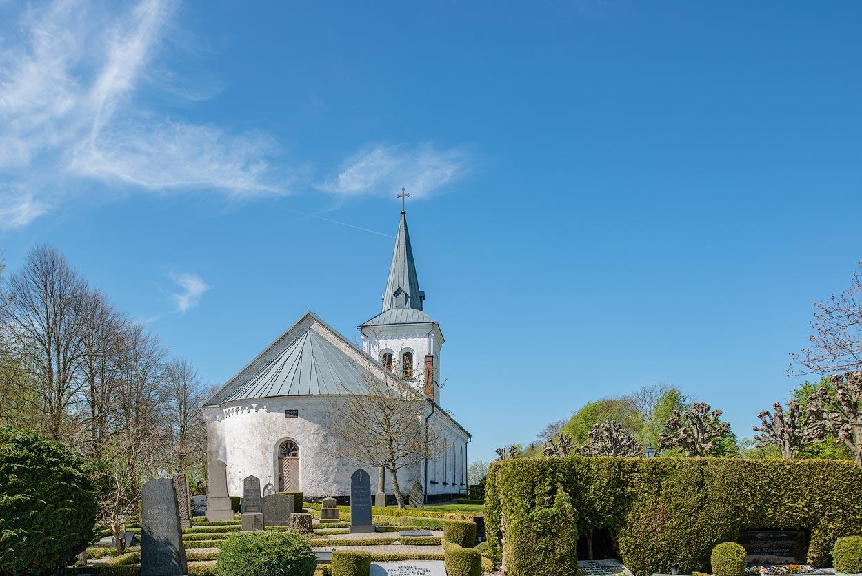 stra Krrstorps Church in stra Krrstorp, Skne, Sweden