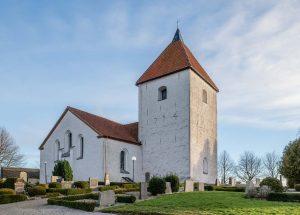 Östra Strö kyrka | Church, Skåne, Sweden: Exteriör | Exterior [2019]<br>Lat: 55.812723N, Long: 13.413379E Copyright © Kristian Adolfsson / www.adolfsson.photo