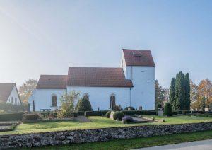 Silvåkra kyrka | Church, Skåne, Sweden: Exteriör | Exterior | Außenansicht [2018]<br>Lat: 55.684443N, Long: 13.495422E © Kristian Adolfsson (www.adolfsson.photo)