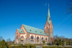 Södra Åsums nya kyrka | new Church, Skåne, Sweden: Exteriör | Exterior [2016]<br>Lat: 55.645575N, Long: 13.701388E © Kristian Adolfsson (www.adolfsson.photo)