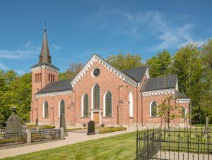 Västerstads kyrka | Church, Västerstad, Skåne, Sweden: Exteriör | Exterior [2018]Lat: 55.773810N, Long: 13.639097E © Kristian Adolfsson (www.adolfsson.photo)