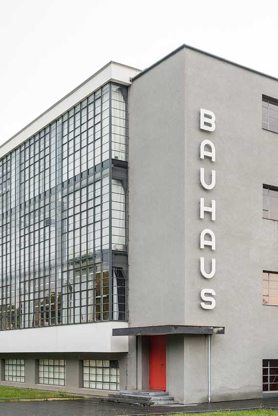Bauhaus In Dessau Germany Architecture Photography