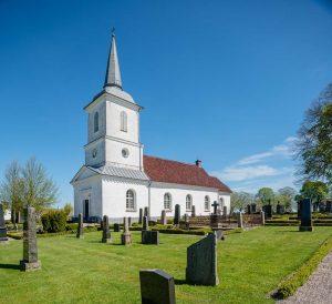 Brandstad kyrka | Church, Skåne, Sweden: Exteriör | Exterior [2018]Lat: 55.682188N, Long: 13.719778E Copyright © Kristian Adolfsson / www.adolfsson.photo