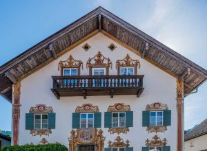 Lüftlmalerei, Dorfstraße 43, Oberammergau, Bavaria | Bayern, Germany | Deutschland | Tyskland [2018]<br>Lat: 47.596743N, Long: 11.064805E Copyright © All rights reserved. Kristian Adolfsson / www.adolfsson.photo