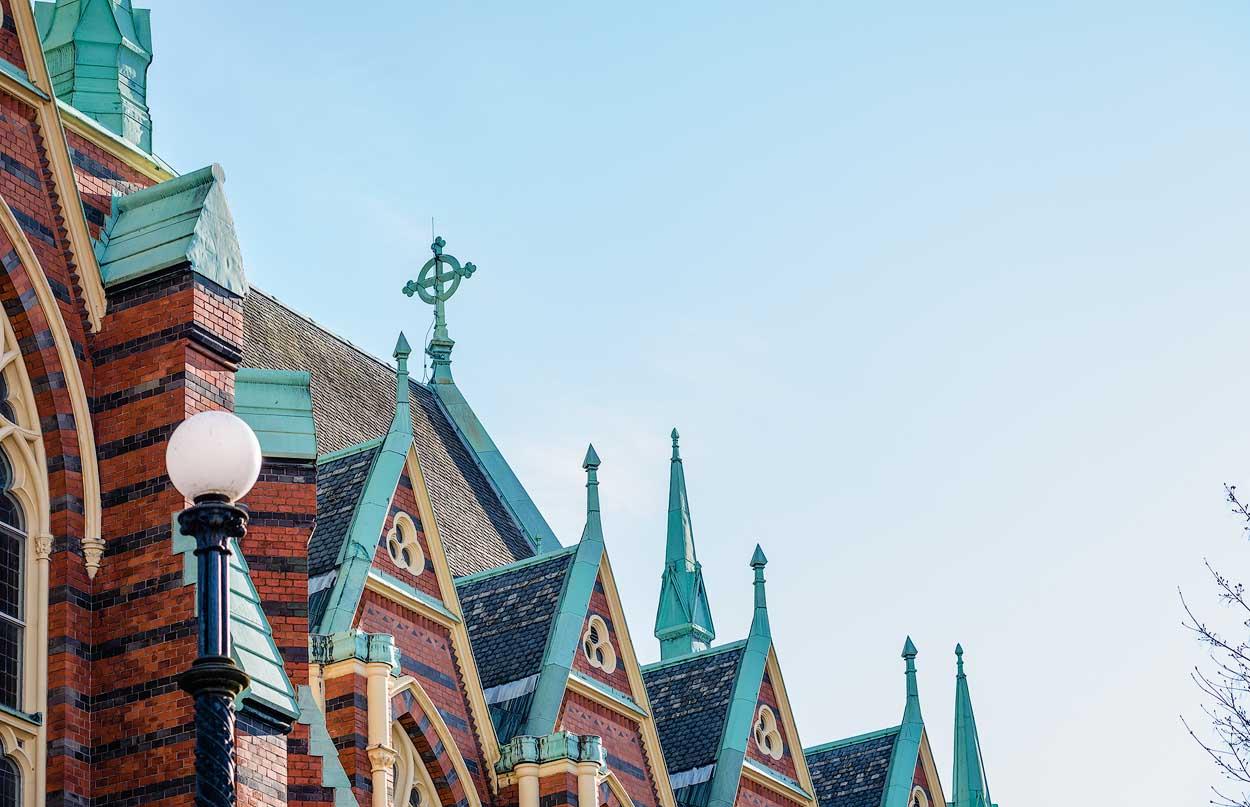Oscar Fredriks kyrka, Göteborg; arkitekt: Helgo Zettervall | Oscar Fredrik's Church, Gothenburg, Sweden [2017]