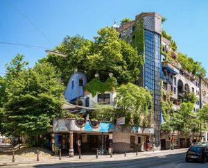 Hundertwasserhaus, Landstraße district, Wien | Vienna, Austria: Exterior | Außenansicht | exteriör | Architect Friedensreich Hundertwasser [2016]<br>Lat: 48.207399N, Long: 16.393978E Copyright © All rights reserved. Kristian Adolfsson / www.adolfsson.photo
